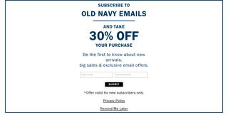 Sign up for emails - Athleta