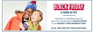Sign up for emails - Old Navy