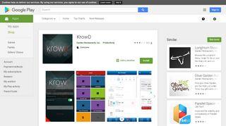 KrowD - Apps on Google Play