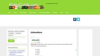 OnDemandKorea   Roku Guide