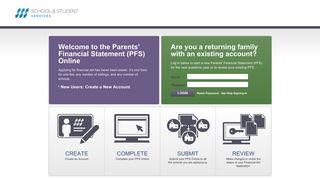 Family Portal Login - SSS by NAIS