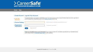 CareerSafe Campus :: Sign In