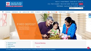 Central Bank of India- personal_banking