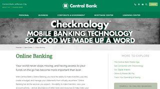 Online Banking | Central Bank