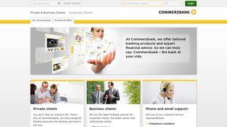 Online Banking - Commerzbank