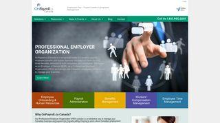 Home   OnPayroll Canada   Providing Professional Employer Service ...