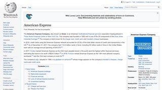 American Express - Wikipedia