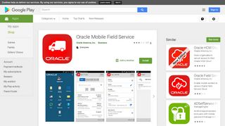 Oracle Mobile Field Service - Apps on Google Play