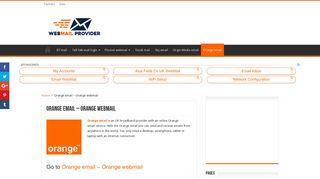 Go to Orange email - Orange email login & settings - Webmail