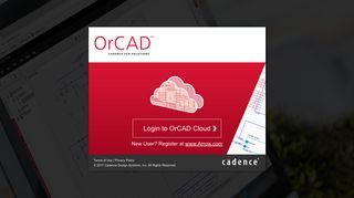 OrCAD Login