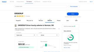 ORDERUP Driver Salaries in Norman, OK   Indeed.com