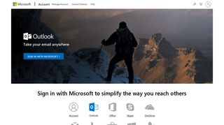 Microsoft account | Access Your Outlook Account Online