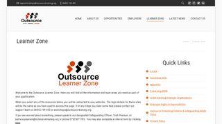 Learner Zone - Outsource Training & Development