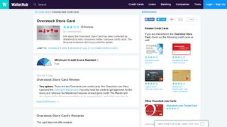 Overstock Store Card Reviews - WalletHub