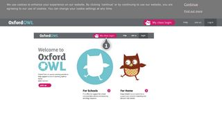 Using a class login - Oxford Owl