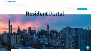 Resident Portal | StuyTown