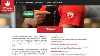 Careers | Panda Restaurant Group