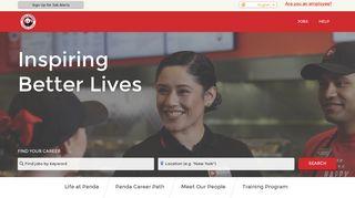 Panda Restaurant Group Careers - Jobs