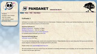 Pandanet: GoPanda2