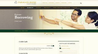 Credit Cards | Banking & Borrowing, Raleigh, Charlotte - Paragon Bank