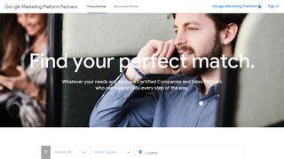 Services Google Marketing Platform Partners