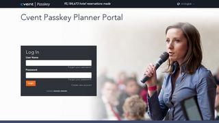 Cvent Passkey Planner Portal