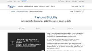 Healthcare Insurance Eligibility Verification   Experian Health