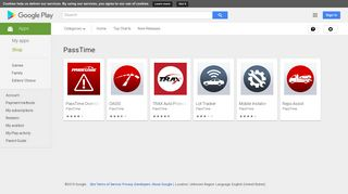 Android Apps by PassTime on Google Play