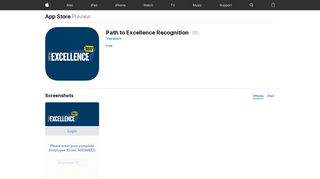 Path to Excellence Recognition on the App Store - iTunes - Apple