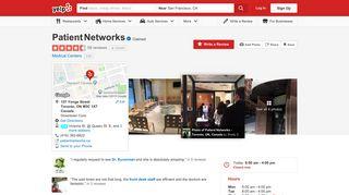 Patient Networks - 57 Reviews - Medical Clinics - 157 Yonge Street ...