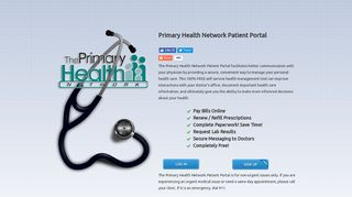 Patient Portal - Access to healthcare 24/7 from Primary Health Network