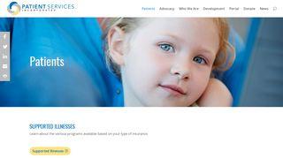 Patients   Patient Services Inc.