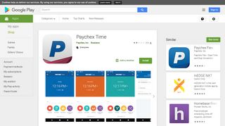 Paychex Time - Apps on Google Play