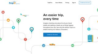 TripIt - Travel Itinerary - Trip Planner