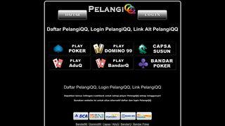 Login Pelangiqq Or Register New Account