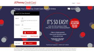 Manage Your JCPenney Credit Card Account - mycreditcard.mobi