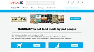 Canidae Pet Food: Quality Dog & Cat Food Products   Petco