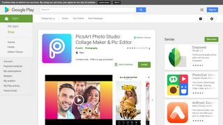 PicsArt Photo Studio: Collage Maker & Pic Editor - Apps on Google Play