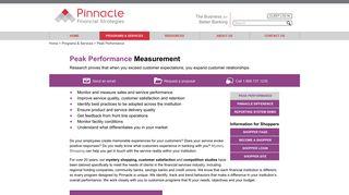 Peak Performance - Pinnacle Financial Strategies
