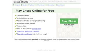 Chess.Cool - Play chess online for free