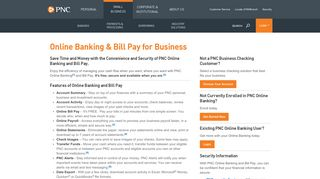 Online Banking and Bill Pay for Business | PNC
