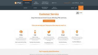 Customer Service | PNC