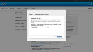 Citibank®: Online Bill Payment - Citibank - Citi.com