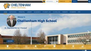 Cheltenham High School / Homepage - Cheltenham School District