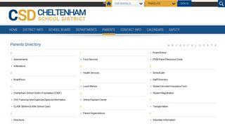 Directory - Cheltenham