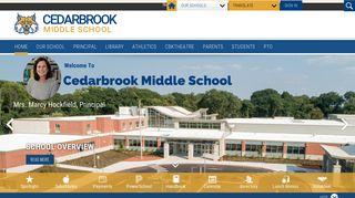 Cedarbrook Middle School / Homepage - Cheltenham