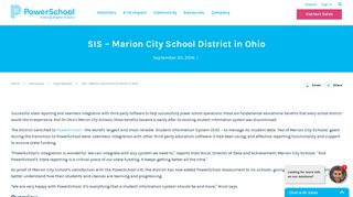 Marion City School District Improves State Reporting ... - PowerSchool