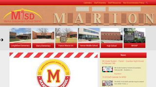 Marion Independent School District   Home of the Indians