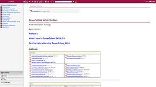 PowerSchool SMS eDocs