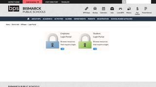 BPSapps / Login Portal - Bismarck Public Schools